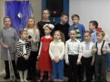 Дети выступили на Рождество 7 Января 2019