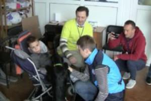 Встреча с семьями детей с инвалидностью в Макарове.
